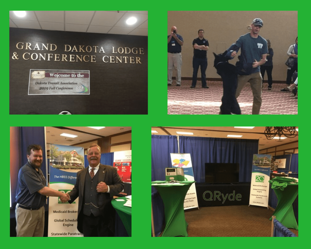 2019 Dakota Transit Association Fall Conference and Roadeo collage