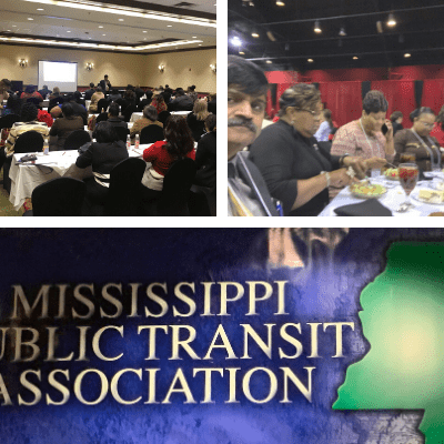 Mississippi Public Transit Association images from conference